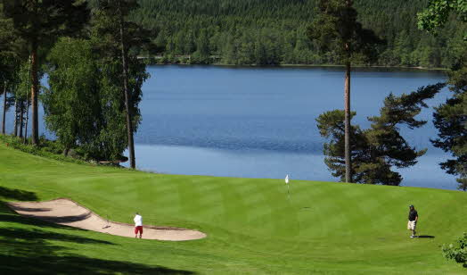 Golf course, Isaberg Mountain Resort