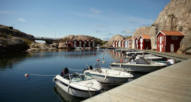 Fishing village in Bohuslän