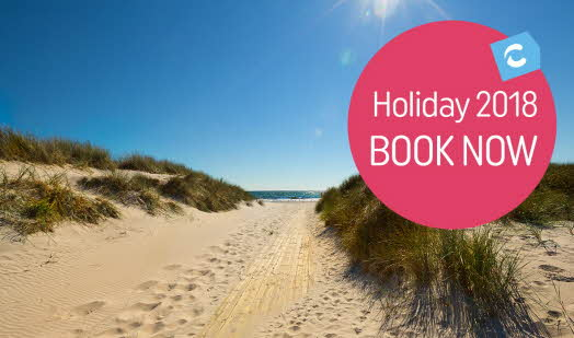 Book your holiday for 2018